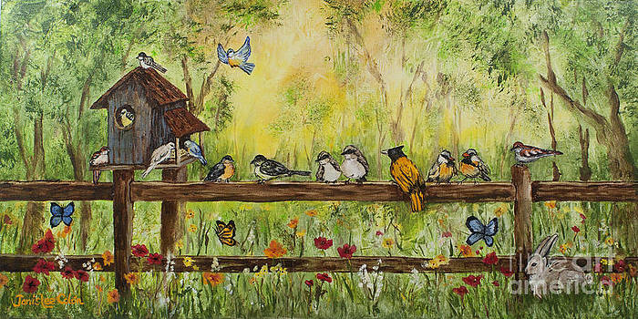Bird Song by Janis Lee Colon