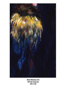 Bird Woman Number two by Deborah Alys Carter