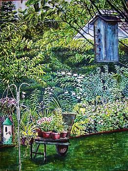 Birdhouse by Linda Vaughon