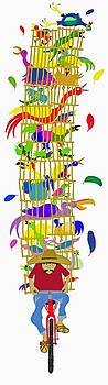 Birdman 1 by Britton Britt Cagle