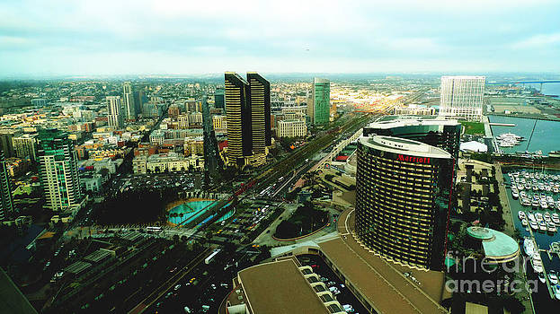 Birds Eye View of San Diego by Nina Prommer