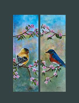 Birds In Paradise by Gina Cordova