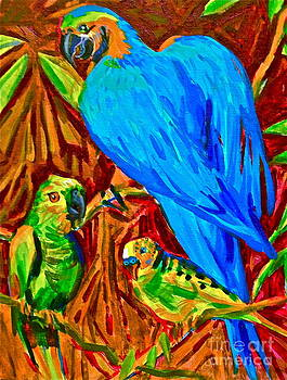 Birds by Linda Zolten Wood