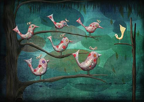 Birds of a Feather by Catherine Swenson
