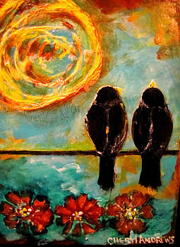 Birds of a Feather Come Together by Cheryl Andrews