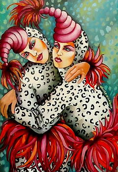 Birds Of A Feather by Erica Laszlo