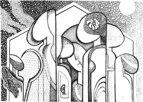 Birds of same scissor by Harsha Jagasia
