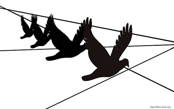 Laura Pierre-Louis - Birds on the Wire