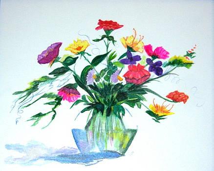 Birthday Bouquet by Nancy Nuce