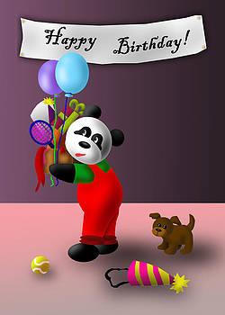 Jeanette K - Birthday Panda
