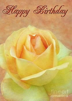 JH Designs - Birthday Yellow Rose