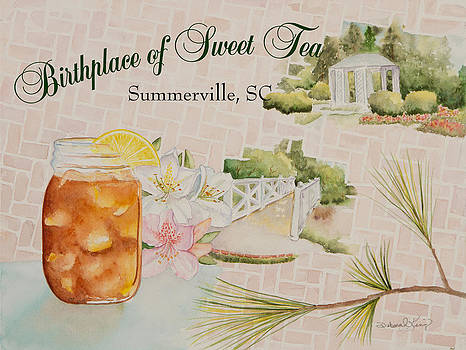 Birthplace of Sweet Tea by Deborah King - DKS Studio