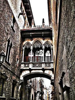 Bishop's Street - Barcelona by Juergen Weiss