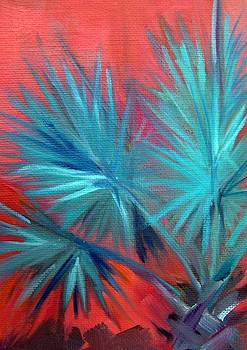 Bismark Palm I by Maureen Ghetia