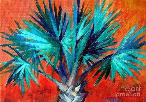 Bismark Palm II by Maureen Ghetia