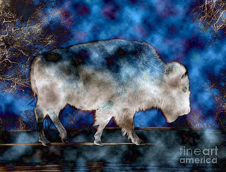 Bison Ghost by Pattie Calfy