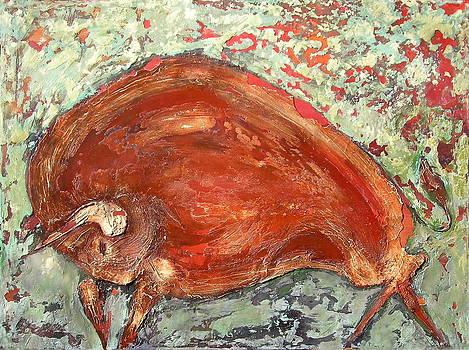 Bison by Kristine Mueller Griffith