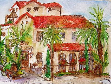 Bistro- Laguna Beach by Michelle Gonzalez