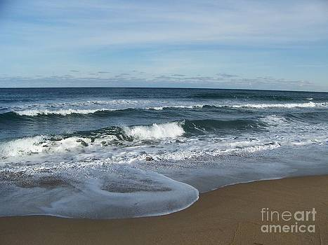 Winter Beach  by Eunice Miller