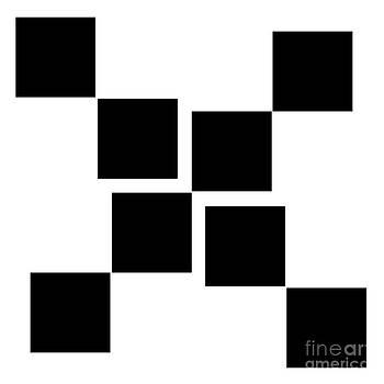 Andee Design - BLACK AND WHITE 10 SQUARE