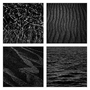 Michelle Calkins - Black and White Beach