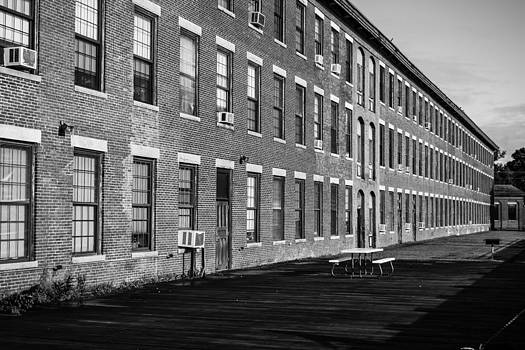 Black and White Building by Jason Brow