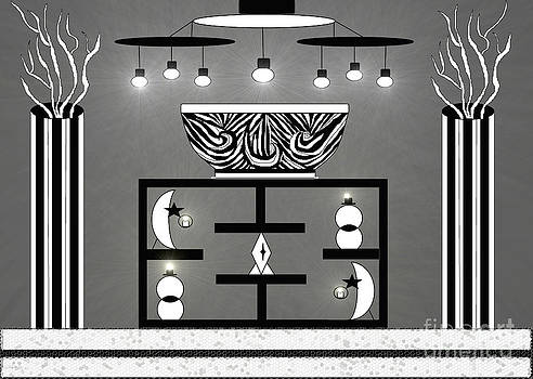 Black and White Decor by Lewanda Laboy