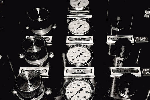 Black And White Dials by Brin Schooley