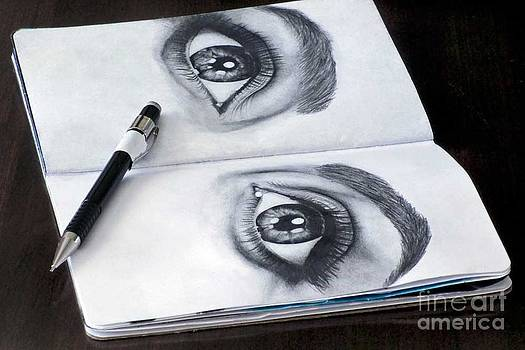 Black and White Eyes by Laura Kayon