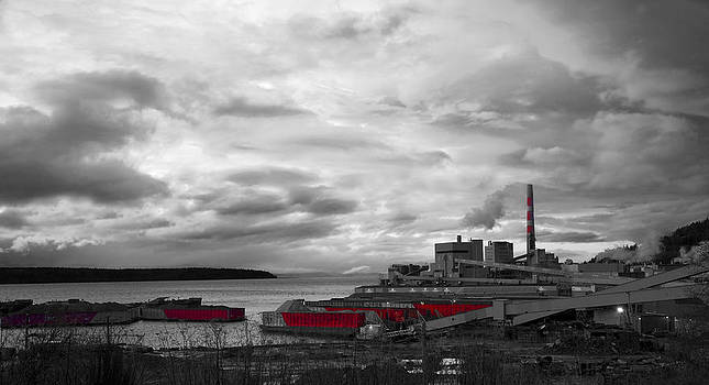 Black and White Mill by Darren Bradley