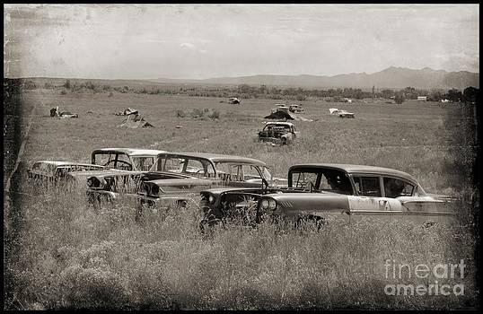 John Malone - Black and White Photographs of Old Cars