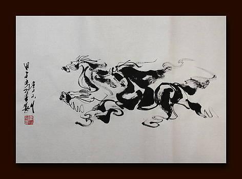 Running Together by Xiaochuan Li