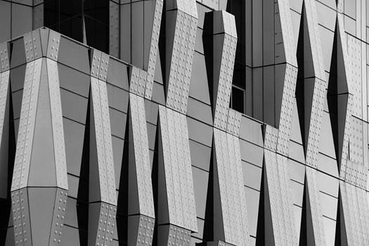 Black and White Rivets by Graham Hayward
