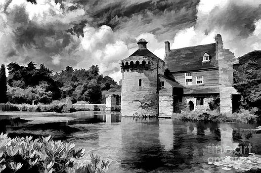 Scotney Castle in Mono by Bel Menpes