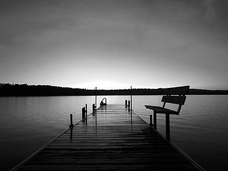 Black and White Sunset  by Colton Macaulay