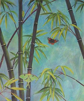 Black Bamboo   A by Bonnie Golden
