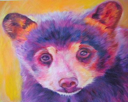 Black Bear Cub by Kristina Delossantos