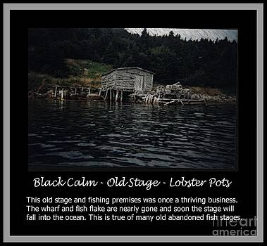 Barbara Griffin - Black Calm - Old Stage - Lobster Pots
