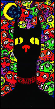 Black Cat Boneyard by Destiny Surreal