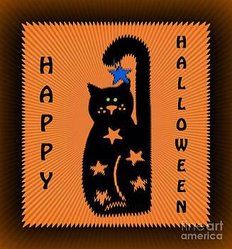 Eva Thomas - Black Cat Halloween