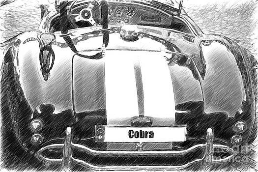 Heiko Koehrer-Wagner - Black CN Cobra Classic Car sketch