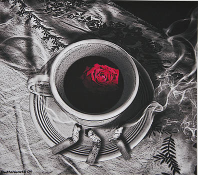 Larry Butterworth - BLACK COFFEE AND ROSES