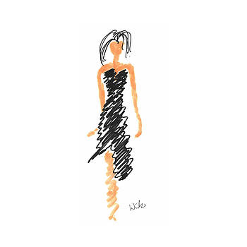 Mark Wilcox - Black Dress 1
