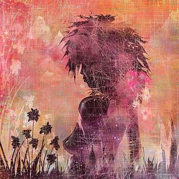 Black Flower by Rachel Christine Nowicki
