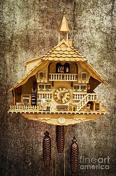 Heiko Koehrer-Wagner - Black Forest Figurine Clock