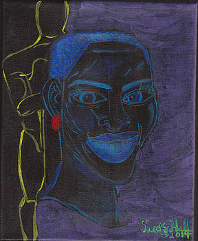 Black Girl Gold Man by Lucky Hall