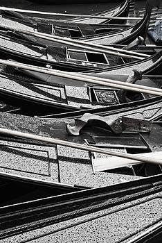 Delphimages Photo Creations - Black gondolas