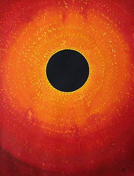 Black Hole Sun original painting by Sol Luckman
