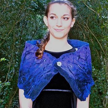 Black Ice Shawl by Mirinda Reynolds