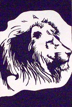 Black Lion by Lynette  Swart
